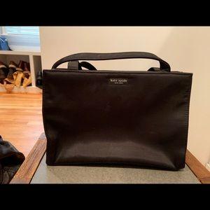 Vintage black kate spade shoulder bag